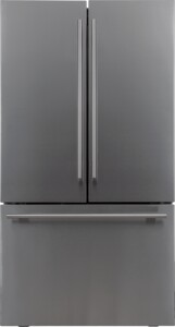 """FFD27ESSSS 36"""" French Door Refrigerator with 26.6 cu. ft. Total Capacity, Energy Star, Internal Water Dispenser, No Frost, in Stainless Steel"""