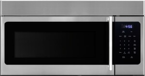 """F3016MV2SS 30"""" Over the Range Microwave with 1.6 cu. ft. Capacity, 300 CFM, 1000 Watt Microwave Power, Membrane Control, 10 Power Levels, LED Cooktop Light, Child Lock, in Stainless Steel"""