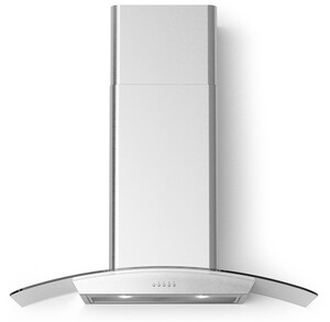 "CORTIVO36 36"" Cortivo Wall Mount Glass Canopy Range Hood with 600 CFM, LED Lighting, Mesh Filters, in Stainless Steel"