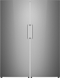 """56"""" Side by Side Refrigeration Pair with F14ARESSS 28"""" All Refrigerator and F14UFESSS 28"""" All Freezer"""