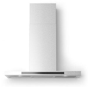 "ALBERTO30 30"" Alberto Wall Mount Chimney Style Hood with 560 CFM, LED Lighting, Delay Shut Off, Grease Filter Indicator Light, in Stainless Steel"